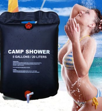 20L Foldable Solar Energy Heated Shower Bag
