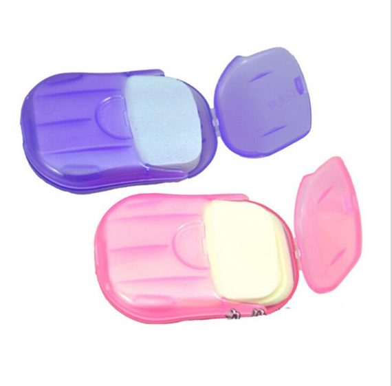 Portable Hand Wash Soap Paper with Mini Case