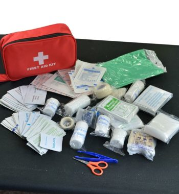 Large First Aid Kit / Medical Emergency Kit – 180 Pieces