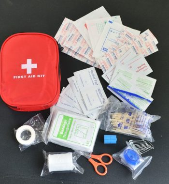 Medium First Aid Kit / Medical Emergency Kit – 120 Pieces