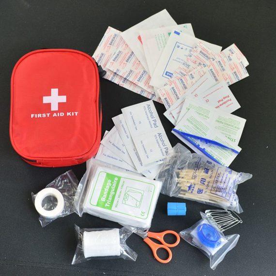 MediumFirst Aid Kit / Medical Emergency Kit – 120 Pieces