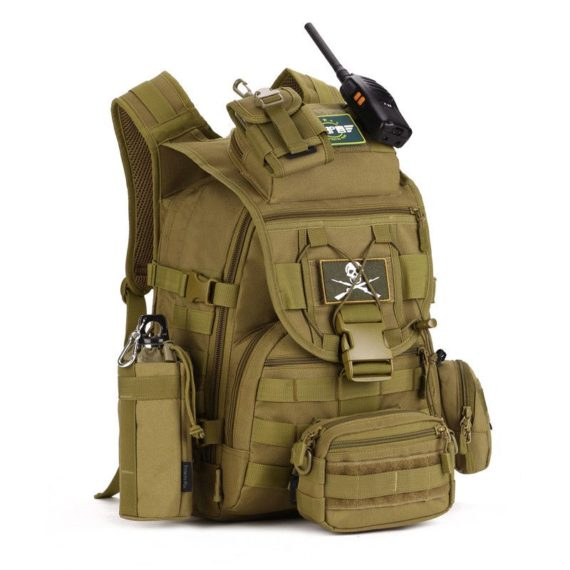 35 Liter Waterproof Tactical Molle Backpack