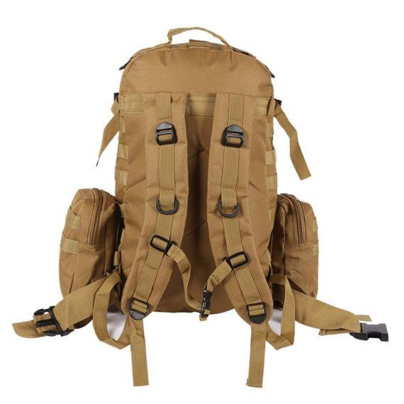 45 Liter Tactical Molle Backpack / Go Bag – 6 Colors