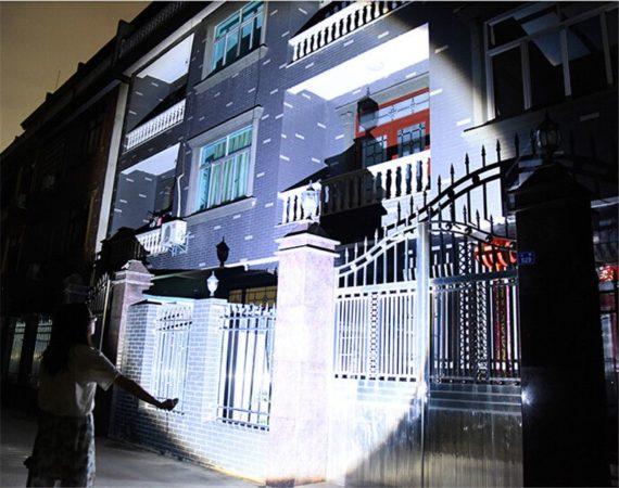 6000 Lumens High Power Tactical LED Flashlight