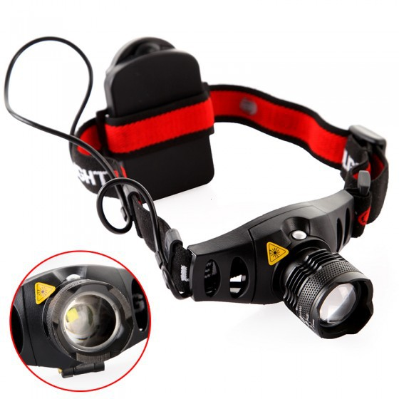 1200 Lumens Rechargeable LED Headlamp / Headlight