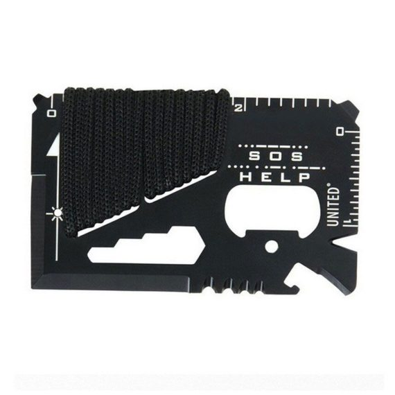14 in 1 Multi-Function Credit Card Size Survival Card