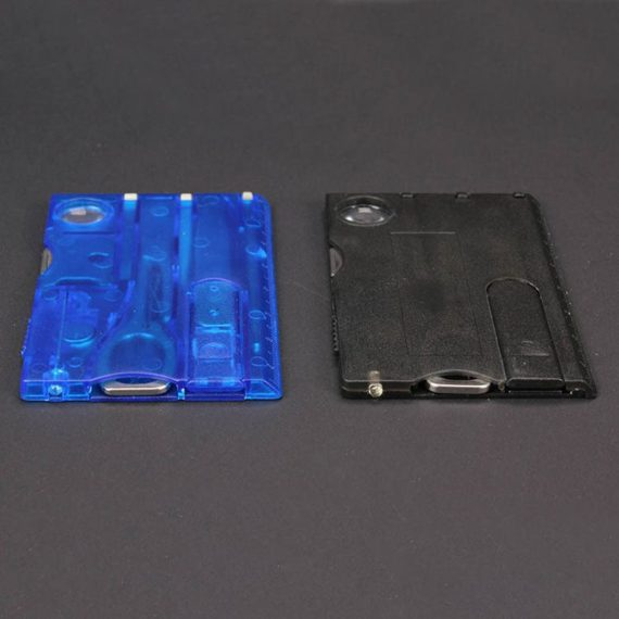 9 in 1 Credit Card Size Multi-Functional Tool Card Set