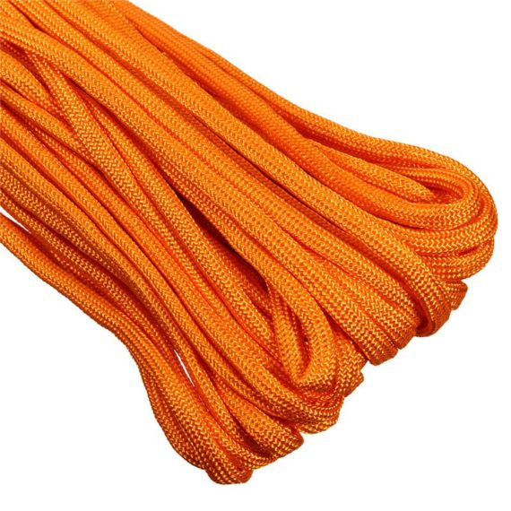 20FT Paracord Rope / Parachute Cord – Breaking Strength 550 lb