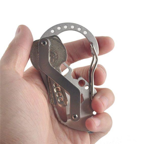 Multi-function Carabiner Key Organizer / Keyholder