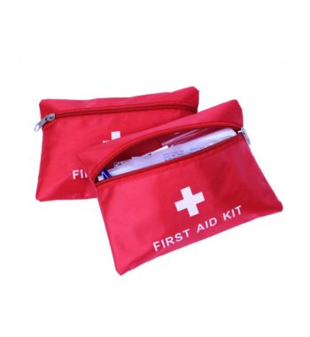 Small First Aid Kit / Medical Emergency Kit – 34 Pieces