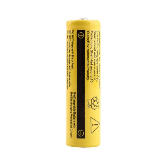 2 x 18650 Rechargeable Li-ion Batteries – 9800mAh Capacity