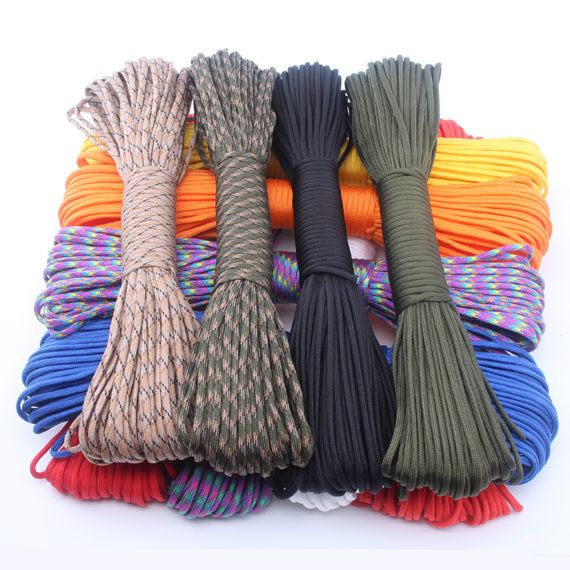 Military Spec Paracord Rope – 250 Colors