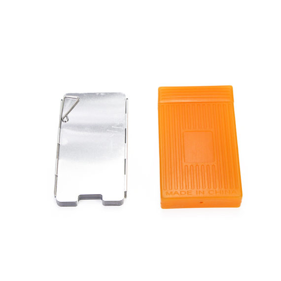 9 Plates Foldable Wind Shield / Protector for Stove