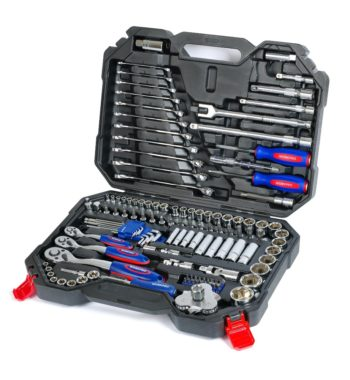 WorkPro Heavy Duty Car Repair Tool Kit – 123 Pieces