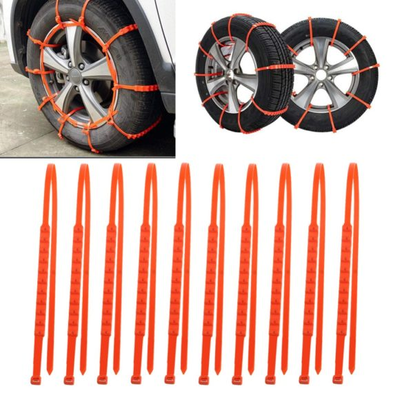 Universal Anti-skid Snow Chains for Cars / SUVs