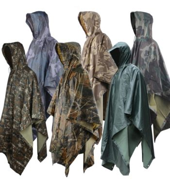 Multi-purpose Poncho Raincoat for Outdoor Activities