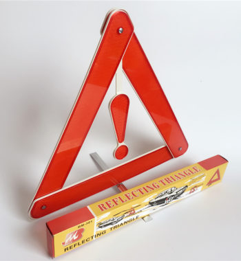 Folding and Reflective Car Warning Sign For Emergency