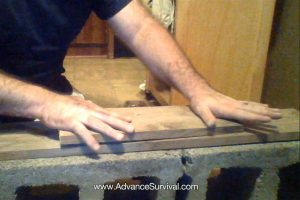 how to start a fire with Rudiger Roll Friction Fire Method