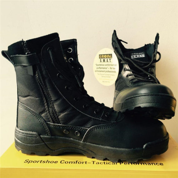 SWAT Classic CZ Security Tactical Boots for Men