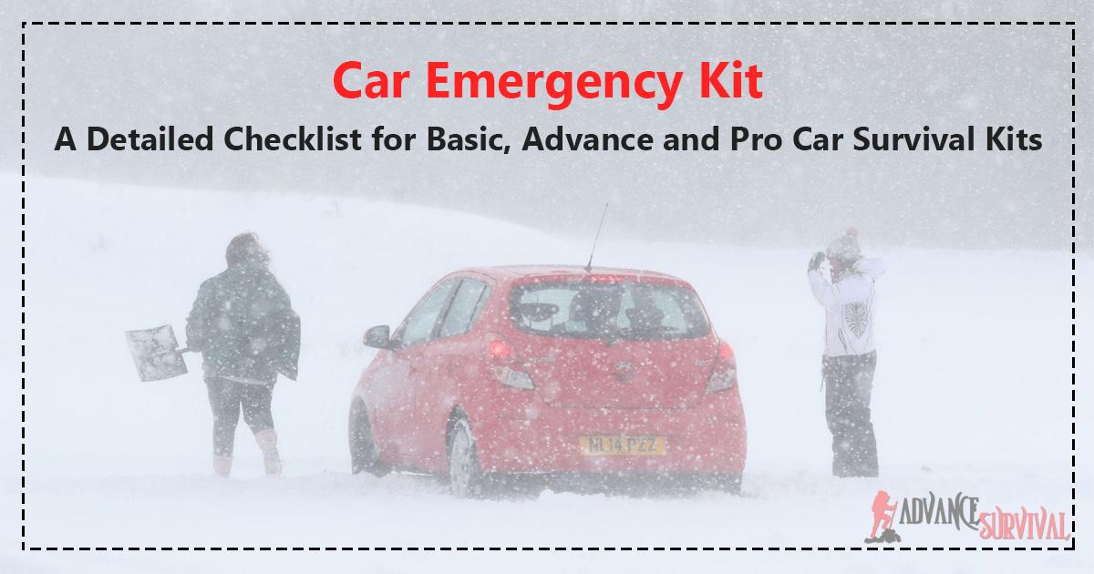Car Emergency Kit Car Survival Kits
