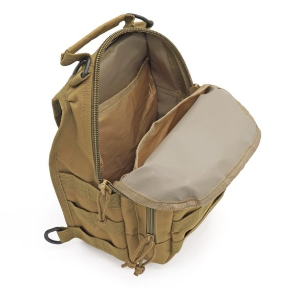 Outdoor Shoulder Bag Made of Oxford Fabric