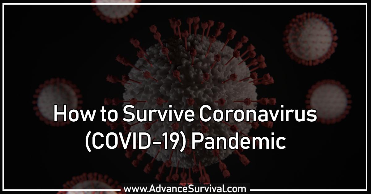 How to Survive CoronaVirus (COVID-19) Pandemic