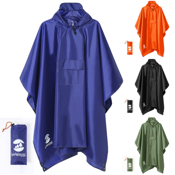 Multi-function Waterproof Poncho / Raincoat / Rain Cover