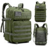 45L Military Backpack for Hiking, Trekking & Outdoors